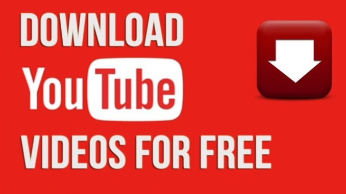 YouTube videos download
