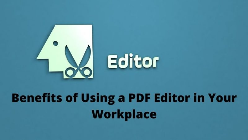 Top 4 Benefits of Using a PDF Editor in Your Workplace